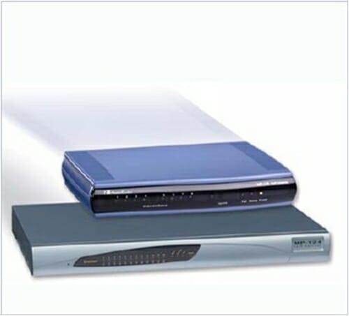 Audiocodes MediaPack 114 Analog VoIP Gateway, 4 FXS, SIP Package