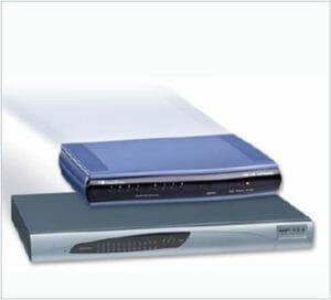 Audiocodes MediaPack 124 Analog VoIP Gateway, 24 FXS, SIP Package for indoor deployments,AC-powered