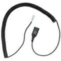 Plantronics U10P-S Coil Cord to QD Modular Plug