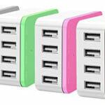 ORICO CSI-4U-PK – ORICO 4 x USB Port – Desktop Charger – Pink