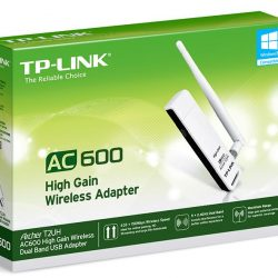 ARCHER T2UH - TP-Link Archer T2UH AC600 High Gain Wireless Dual Band USB Adapter 2.4GHz (150Mbps) 5GHz (433Mbps) 1xUSB2 802.11ac 1x3dBi High Gain Antenna WPS button
