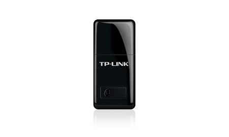 TL-WN823N - TP-Link TL-WN823N N300 Mini Wireless N USB Adapter 2.4GHz (300Mbps) 1xUSB2 802.11bgn Internal Antenna Mini-sized design WPS button