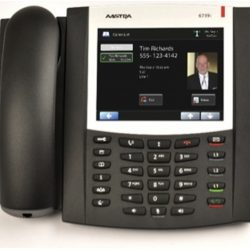 Aastra 6739I - 9 Line IP Phone. 5.7'''' graphical display, POE, Dual 10/100/1000Mbps