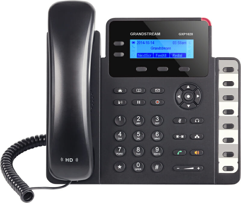 Grandstream GXP1628 HD POE IP Phone Linux Model