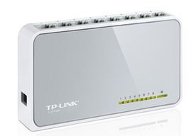 TL-SF1008D - TP-Link SF1008D 8 Port Switch 10/100Mbps Desktop Plastic case
