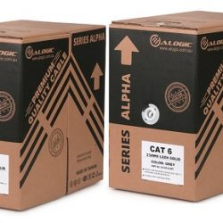 Alogic C5-305-Blue-ST - 305m Stranded CAT5e Network Cable Roll