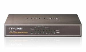 TP-Link 8-Port 10/100Mbps Desktop Switch with 4-Port PoE (TL-SF1008P)