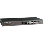 TL-SF1024 - TP-Link TL-SF1024 24-Port 10/100Mbps Rackmount Switch Unmanaged