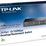 TL-SF1024D – TP-Link SF1024D24 Ports Switch 10/100, save power up to 705