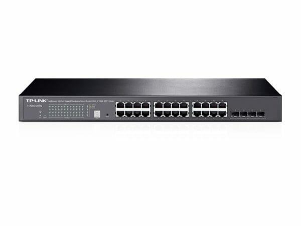 TP-Link JetStream 24-Port Gigabit Stackable Smart Switch with 4 10GE SFP+ Slots (T1700G-28TQ)