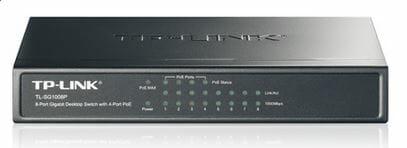 TL-SG1008P - TP-Link TL-SG1008P 8-Port Gigabit Desktop Switch with 4-Port PoE