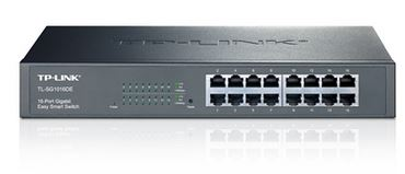 TL-SG1016DE - TP-Link SG1016DE 16port Switch Gigabite, Easy smart switch