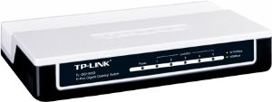 TP-Link 5-port Desktop Gigabit Switch, 5 10/100/1000M RJ45 ports, plastic case