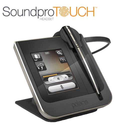 Polaris Soundpro Touch™ Wireless Headset For Cisco Telephones | UC Optimised | For Desk-phone & Softphone
