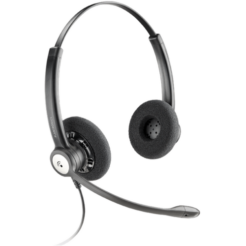 Plantronics HW121N Entera Wideband Binaural NC Headset