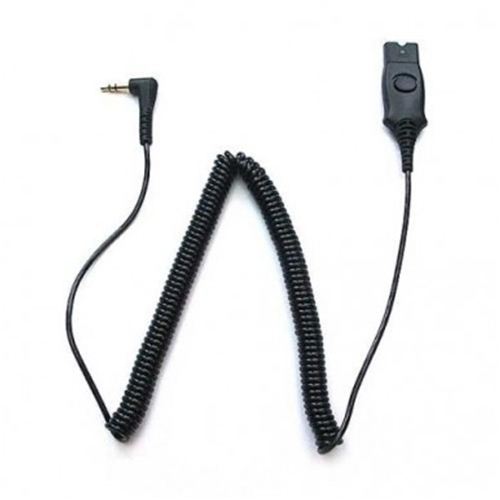 IP TOUCH CABLE FOR ALCATEL IP PHONES - 3.5mm , QD WITH ANSWER BUTTON