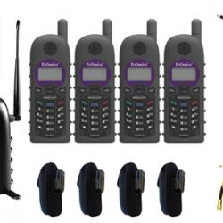 SP935-SIP Quad-B20 - 1 x 10 Line  SP935 Base, 4 x SP935 Handsets
