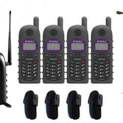 SP935-SIP Quad Pack-IND20 1 x 10 Line SP935 Base, 4 x SP935 Handsets
