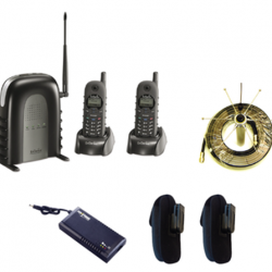 EnGenius SP922-SIP Quad PackA - 1 x 10 line SP935 Base, 4x SP922-SIP Handsets