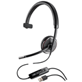 Plantronics Blackwire C510-M Monaural Wideband USB Headset w Pressure Sensor, Microsoft Lync Certified
