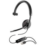 Plantronics Blackwire C510 Monaural Wideband USB Headset with Pressure Sensors, UC