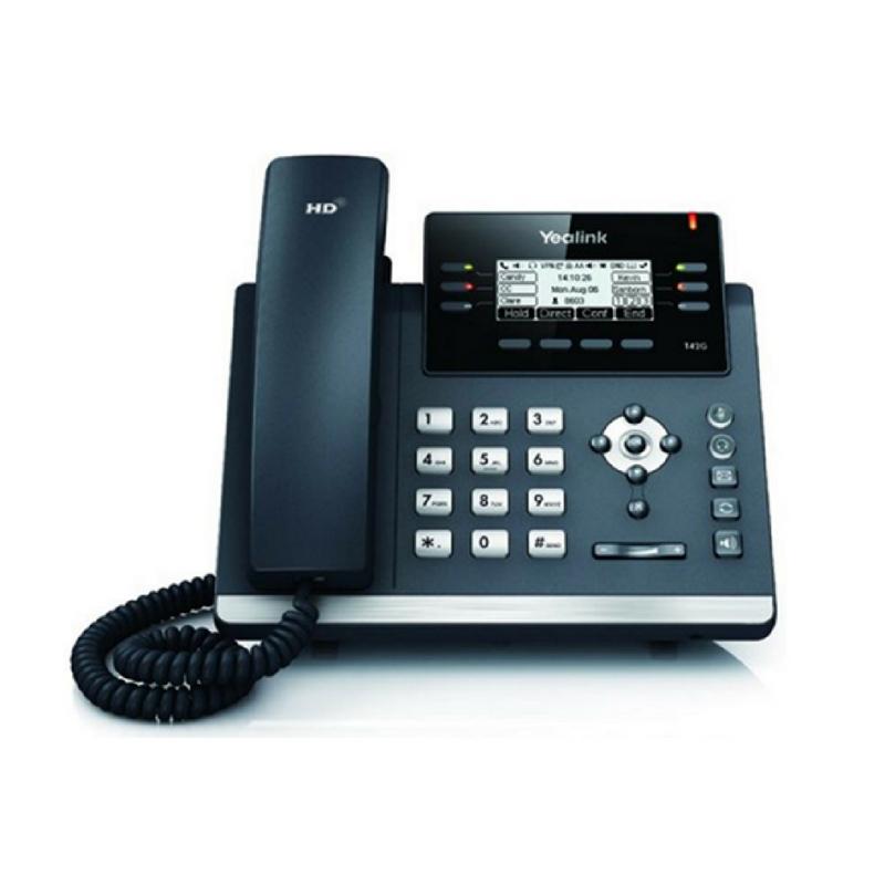 Yealink SIP-T41S Ultra Elegant IP Phone (Power Adapter optional)