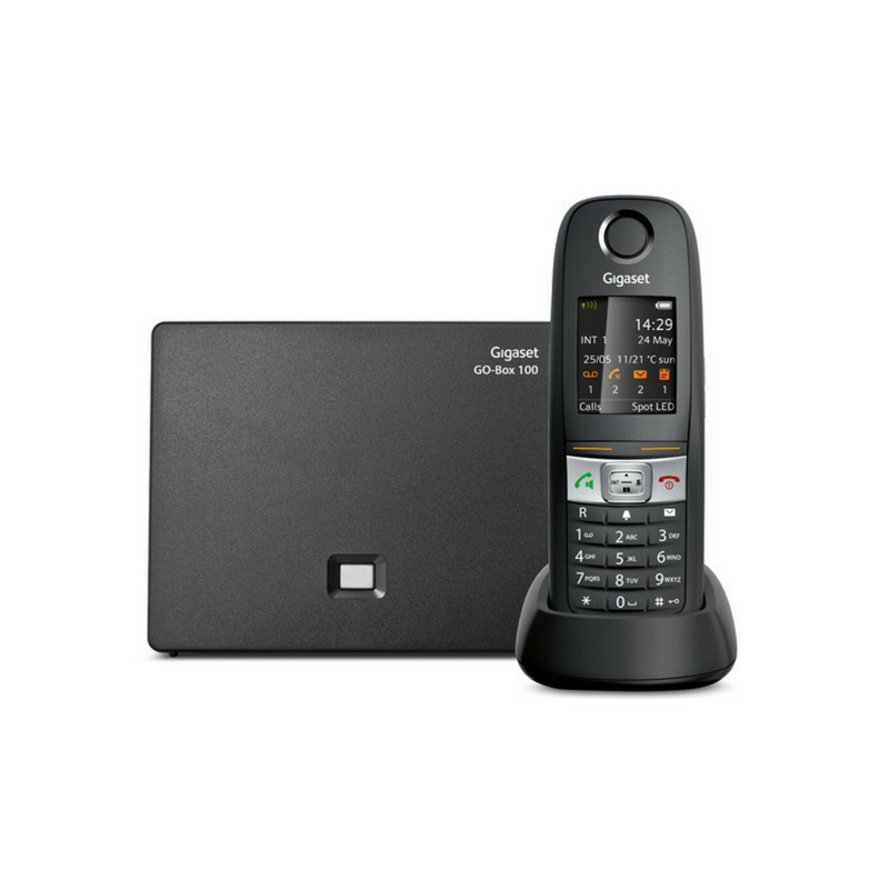 Gigaset E630A GO Robust IP DECT Cordless Phone with additional 2 x E630H  Handset