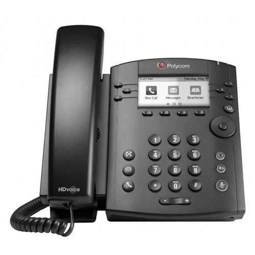 Polycom VVX 301 6-line IP Desktop Phone