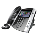 Polycom VVX 601 16-line IP Phone with built-in Bluetooth and HD Voice.