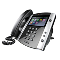 Polycom VVX 600 16-line Business Media Phone - Built-In Bluetooth and HD Voice
