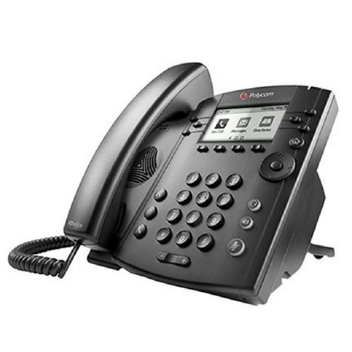 POLYCOM VVX 310 6-LINE DESKTOP PHONE GIGABIT ETHERNET WITH HD VOICE.