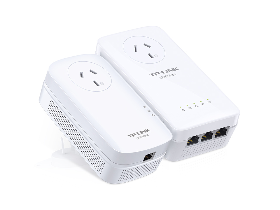 TP-Link AV1200 Passthrough Powerline Edition (TL-WPA8630P KIT)