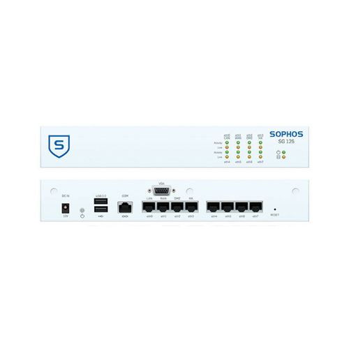 Sophos SG 125 Security Appliance - AU power cord