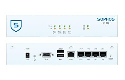 Sophos SG 105w Security Appliance WiFi - AU power cord