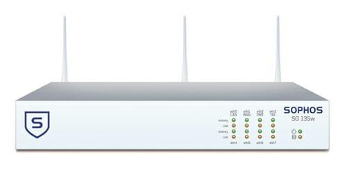 Sophos SG 135w Security Appliance WiFi - AU power cord