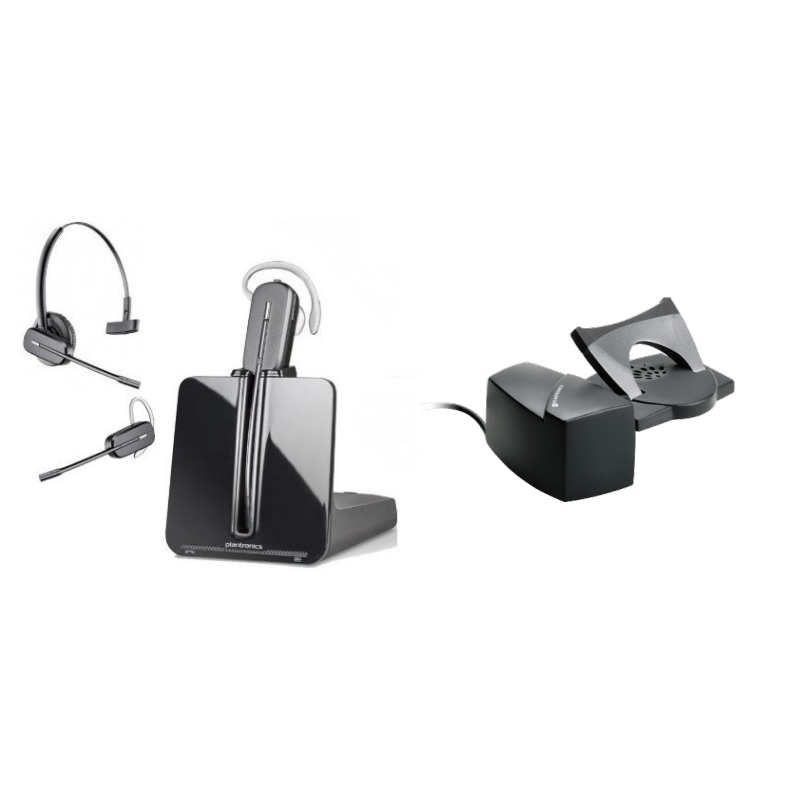 Plantronics CS540 Convertible DECT Headset and HL10 Lifter Bundle