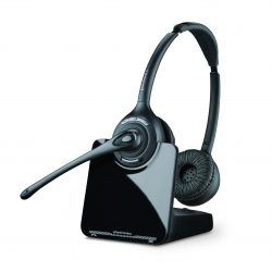 Plantronics CS520 Wireless Over Head Headset