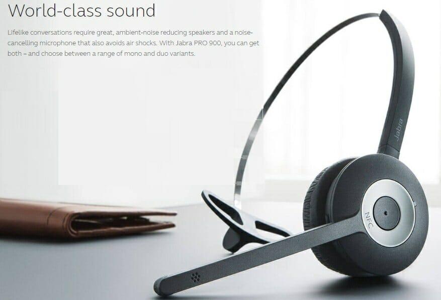 Jabra PRO 935 Bluetooth Headset – MS Lync Version – MyITHub