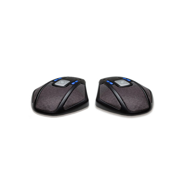 300wx and 300IP Wireless Conference Phones Licorice Black For use with 250 Konftel 900102113 Expansion Microphones Increase the voice pickup range from 30 up to 70 m2 300