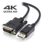 DP-DV4K-01-ACTV – Alogic ACTIVE 1m DisplayPort to DVI-D Cable with 4K Support – Male to Male