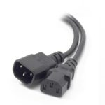 MF-C13C14-10 – ALOGIC 10m IEC C13 to IEC C14 Computer Power Extension Cord – Male to Female