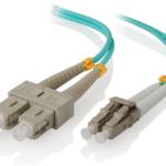 LCSC-05-OM3 – ALOGIC 5m LC-SC 10G Multi Mode Duplex LSZH Fibre Cable 50/125 OM3