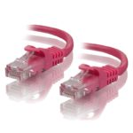 C6-0.5-Pink – ALOGIC 0.5m Pink CAT6 network Cable