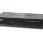 GSD-803 – Planet 8-Port 10/100/1000Mbps Gigabit Ethernet Switch (External Power) – Metal Case