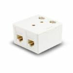 SEC5-DSM – Serveredge 2 Way CAT5e Surface Mount Box with Keystone Jack – White