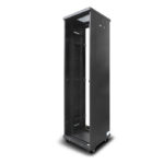 SEES-45RU-66FS – Serveredge 45RU ELEMENTARY Free Standing Server Cabinet – 600W x 600D Includes:-Frame -2 Pair x Split Side Panels-4 x Full Height RU Marked and Notched Mounting rails-4 x Adjustable Feet and Braked Castor Kit* Suitable Doors Fan Kits Cable Managers PDUs Shelves and Other Accessories must be optioned Separately