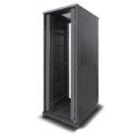 SEES-48RU-812FS – Serveredge 48RU ELEMENTARY Free Standing Server Cabinet – 800W x 1200D Includes:-Frame -2 Pair x Split Side Panels-4 x Full Height RU Marked and Notched Mounting rails-4 x Adjustable Feet and Braked Castor Kit* Suitable Doors Fan Kits Cable Managers PDUs Shelves and Other Accessories must be optioned Separately