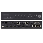 SW4I-03457-100 – Serveredge HDBaseT 4K2K 4-Input Switcher with (1) HDBaseT (3) HDMI Inputs (1) HDBaseT (1) HDMI Mirrored Outputs IR Ethernet & Control -100m