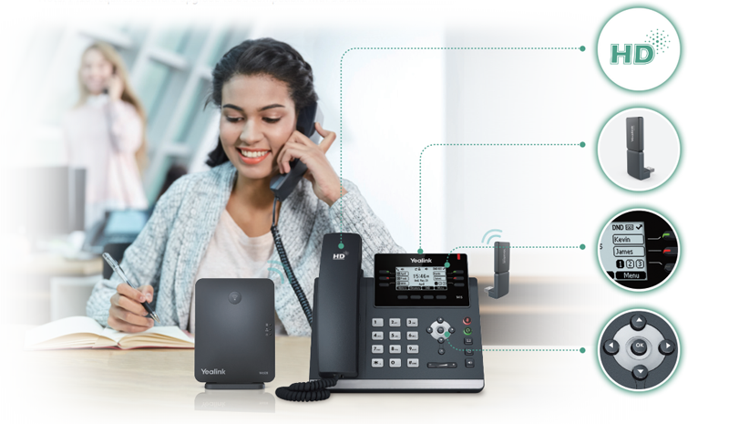 Checkout Our New Yealink W41P Dect Desk Phone Available In Australia