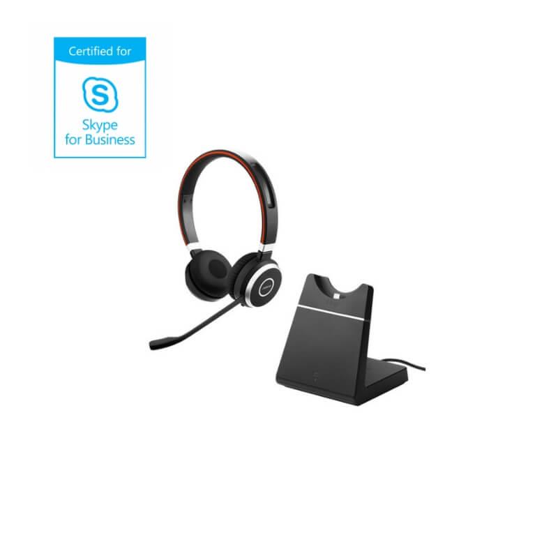 9c395a3e41f JABRA Evolve 65 Incl. Charging Stand MS Stereo | MyITHub Australia